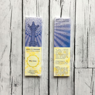BLUE LOTUS (PURE INCENSE)