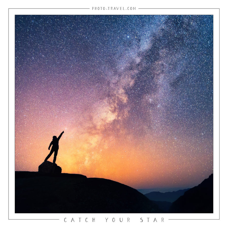 Открытка «Catch Your Star»