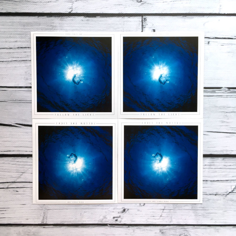 Открытка «Follow the light»