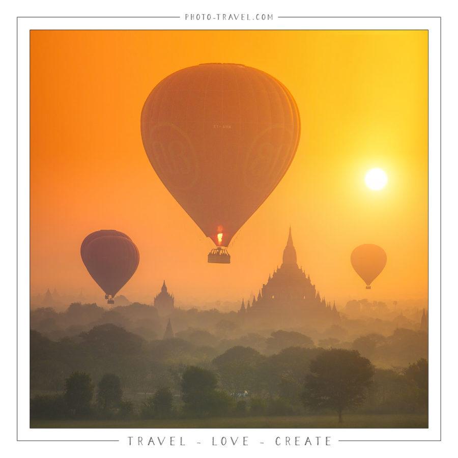 Открытка «Travel-Love-Create»