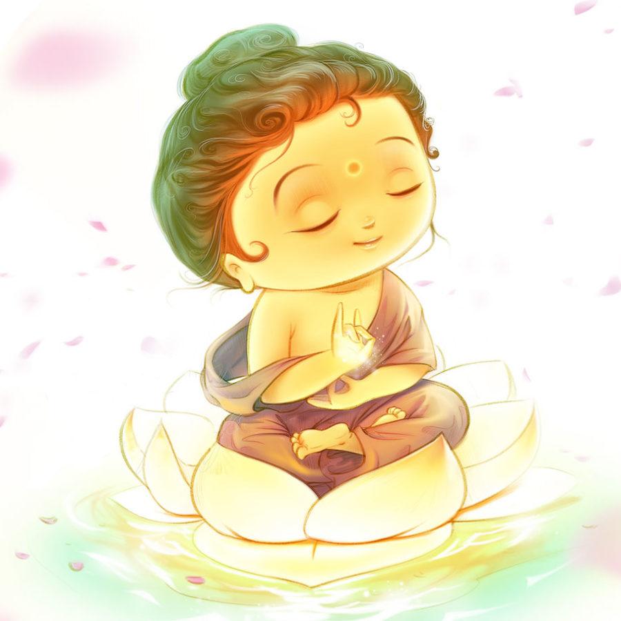 Открытка «Будда»