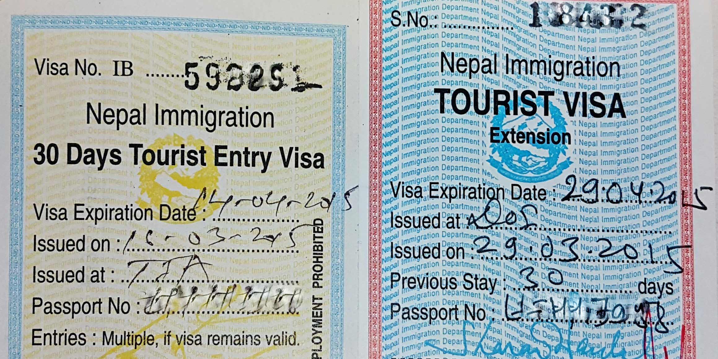 Виза в Непал