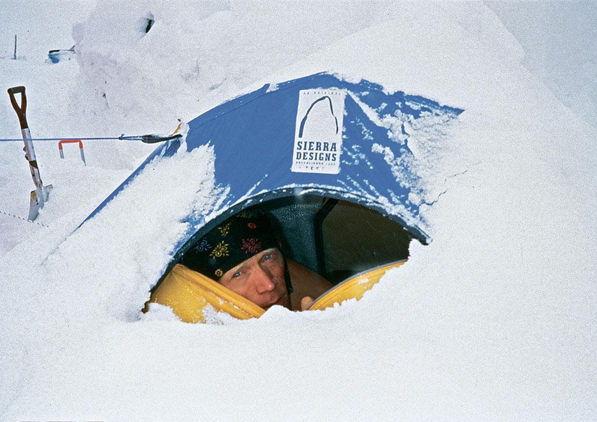В палатке под Аннапурной. За несколько дней до гибели